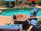 Relax around the Pool and falls at Villa Falls!