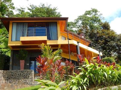 Villa from Entrance