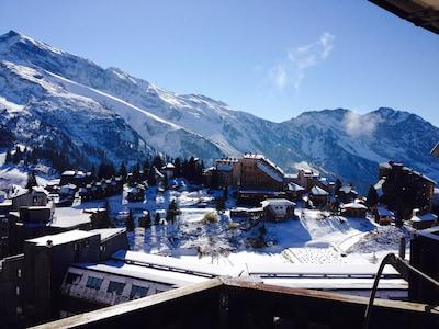 Gondelbahn Les Prodains, Morzine, Haute-Savoie (Département), Frankreich