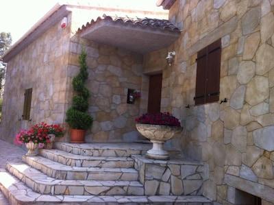 Notre villa -  Le STUDIO se trouve en rez de jardin
