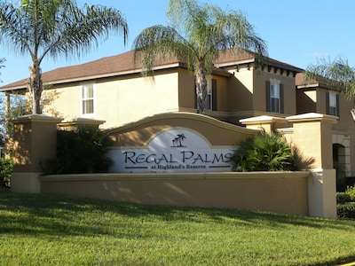 The wonderful Regal Palms