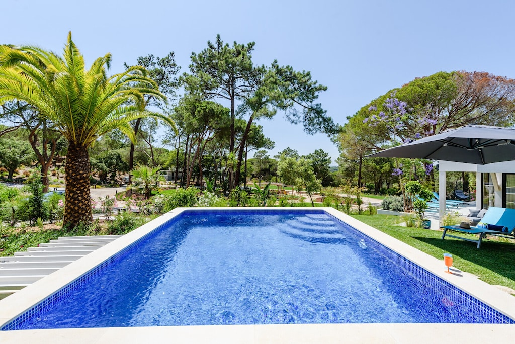 This rental villa with pool is the perfect retreat for holidays to the Algarve with kids
