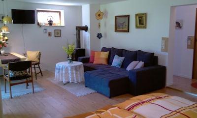 Apartment Wohnen und Schlafen