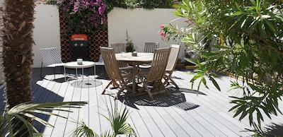 Strandhaus Cannes - 100m vom Strand entfernt - Garage