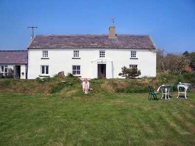 Front view of house away from the sea