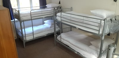 Single bed in 6 bed mixed dorm - Alba Self Catering