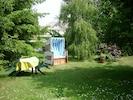Großer Garten zum Entspannen