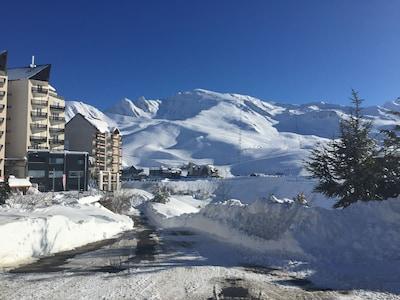 Peyragudes, Gouaux-de-Larboust, Germ, Haute-Garonne, Hautes-Pyrenees, France