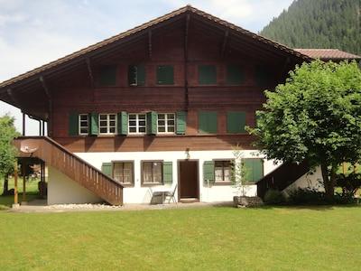 Wyciąg narciarski Lavey, Adelboden, Kanton Berno, Szwajcaria