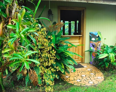 The door to your private, green, energy efficient cottage is always open to you.