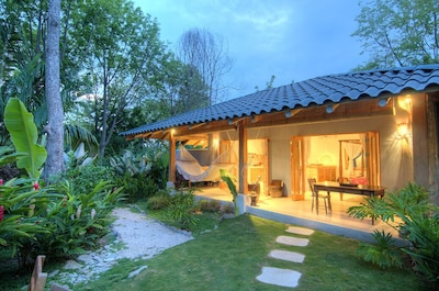 The stunning Batik Casita and Tropical private garden.