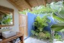 Batik Casita garden bathroom