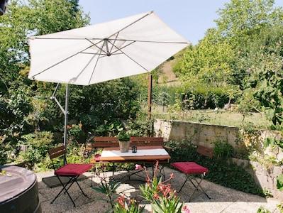 Rheinanlagen Rose Garden, Braubach, Rhineland-Palatinate, Germany