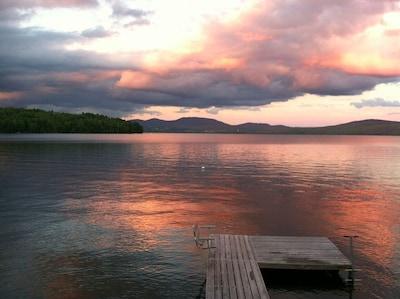 Lake view, dock and mooring