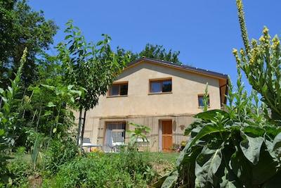 """""""Valle delle Rose"""" Urlaub im Strohballenhaus auf einem Biohof!"""