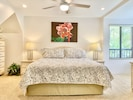 King Size Bed- Main Floor Bedroom with private bathroom