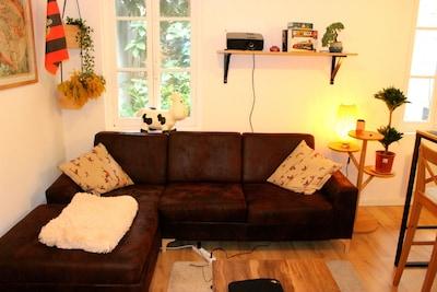 Appartement sur cour intérieure très cosy