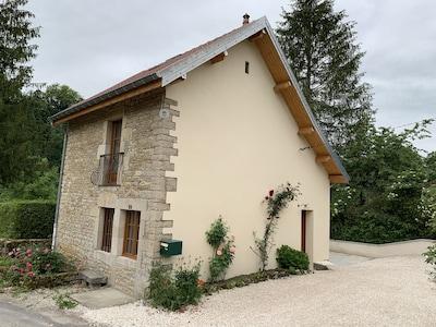 Scey-Maisières, Doubs (département), France
