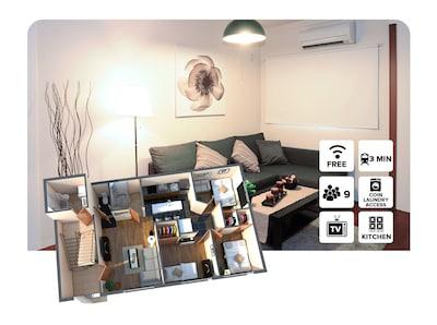 #100 Family Apartment Near Namba