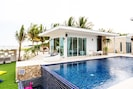 Villa Pool Access  with Two king-size bed