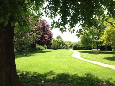 Jardín privado Masía Bepo