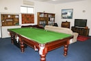 The Billiard Table in Lounge/Dining/Entertainment room.
