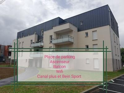 Stade Joel-Cauchon, Dreux, Eure-et-Loir (department), France