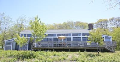 Beachside of House