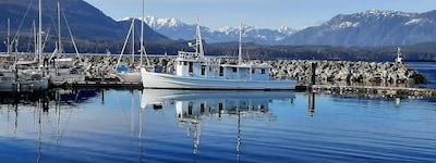 Gwa'ni (Nimpkish) Hatchery, Port McNeil, British Columbia, Kanada