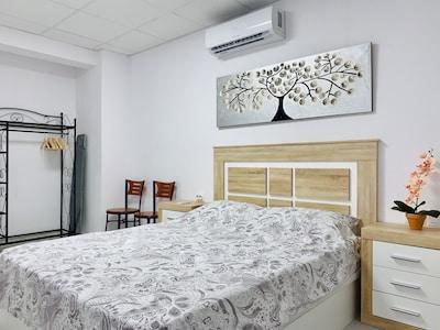Habitación principal cama 150x190