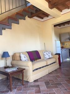 Incantevole appartamento colonica in collina