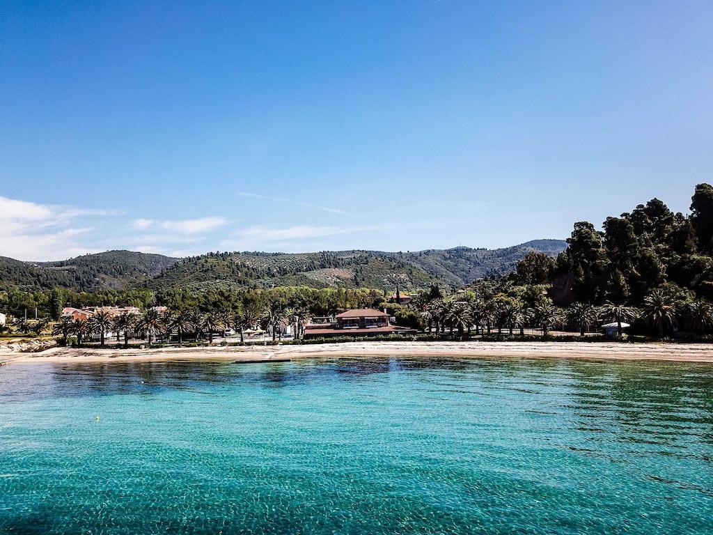 Location de vacances - Incroyable Bungalow Beach à votre porte - Neos Marmaras, Sithonia