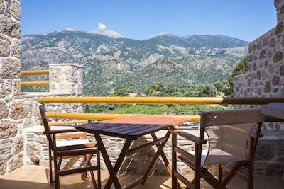Panoramaausicht auf die Weißen Berge
