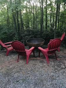 Enjoy a campfire!