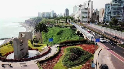 Huaca Huallamarca Pyramid, Lima, Lima Region, Peru