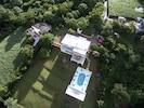 Pool with Gazebo and outside Gazebo bath