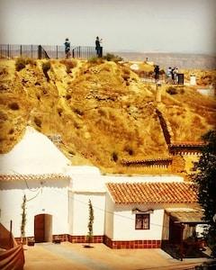 El Mirador Höhle in Guadix