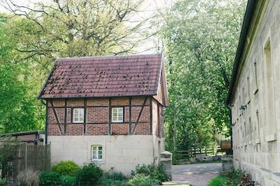 Baumberger Sandsteinmuseum, Havixbeck, Nordrhein-Westfalen, Deutschland