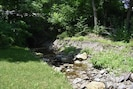 Small creek on the north side of the property