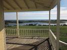 View of Trim Pond, Crescent Beach beyond.