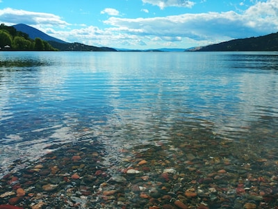 Please keep in mind the water is not typically this clear during the summer
