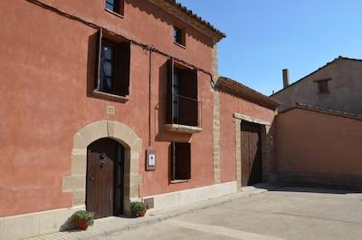 Pueyo de Santa Cruz, Aragón, Spanien
