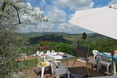 Casa Vinicola Luigi Cecchi, Castellina in Chianti, Toscane, Italie