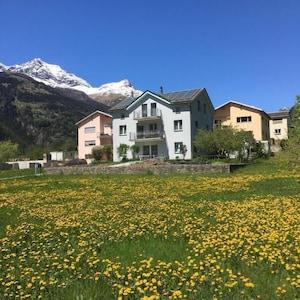 Val di Poschiavo, Poschiavo, Graubuenden, Switzerland