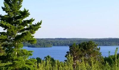 View of Shagawa Lake from cabin