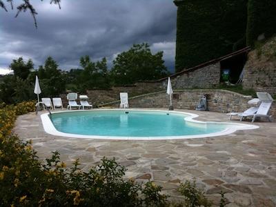 Exploitation viticole Contratto, Canelli, Piémont, Italie