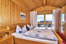 Ferienwohnung Dorfblick (Herzog) (Lindberg)-Schlafzimmer 1