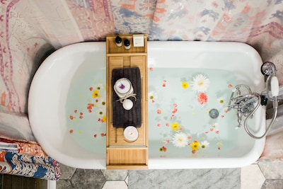 Soak, relax, escape!  *Ask about our bath packages.