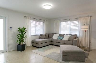 Comfy L Shaped Sofa in Living room