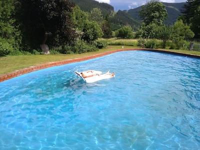Pool mit Poolheizung